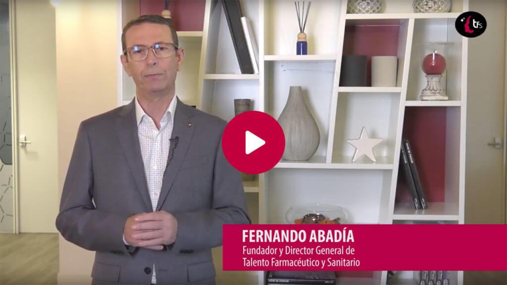 Fernando Abadía, Fundador y Director General de Talento Farmacéutico y Sanitario