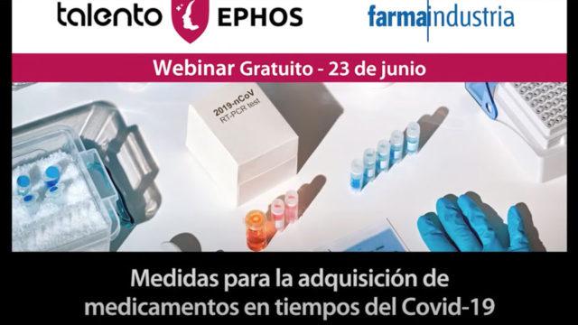 Medidas para la adquisición de medicamentos en tiempos del Covid-19